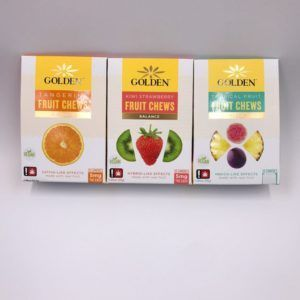 Golden Fruit Chews – 10 pack