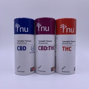 NU Cannabis Drops THC Only