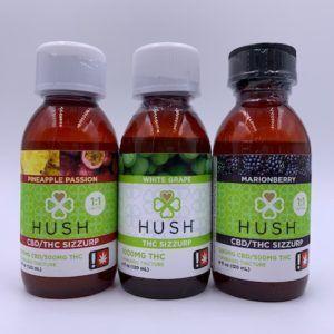 HUSH THC Large Sizzurp